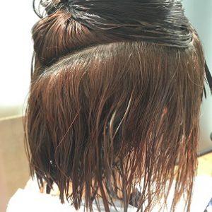ビビり毛 チリチリになった髪の毛もケミカレーションで扱いやすく! FEEL美髪縮毛矯正 ケミカレーションで髪質改善美髪縮毛矯正2