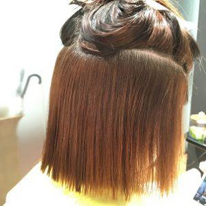 ビビり毛 チリチリになった髪の毛もケミカレーションで扱いやすく! FEEL美髪縮毛矯正 ケミカレーションで髪質改善美髪縮毛矯正5