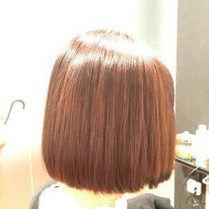 ビビり毛 チリチリになった髪の毛もケミカレーションで扱いやすく! FEEL美髪縮毛矯正 ケミカレーションで髪質改善美髪縮毛矯正6