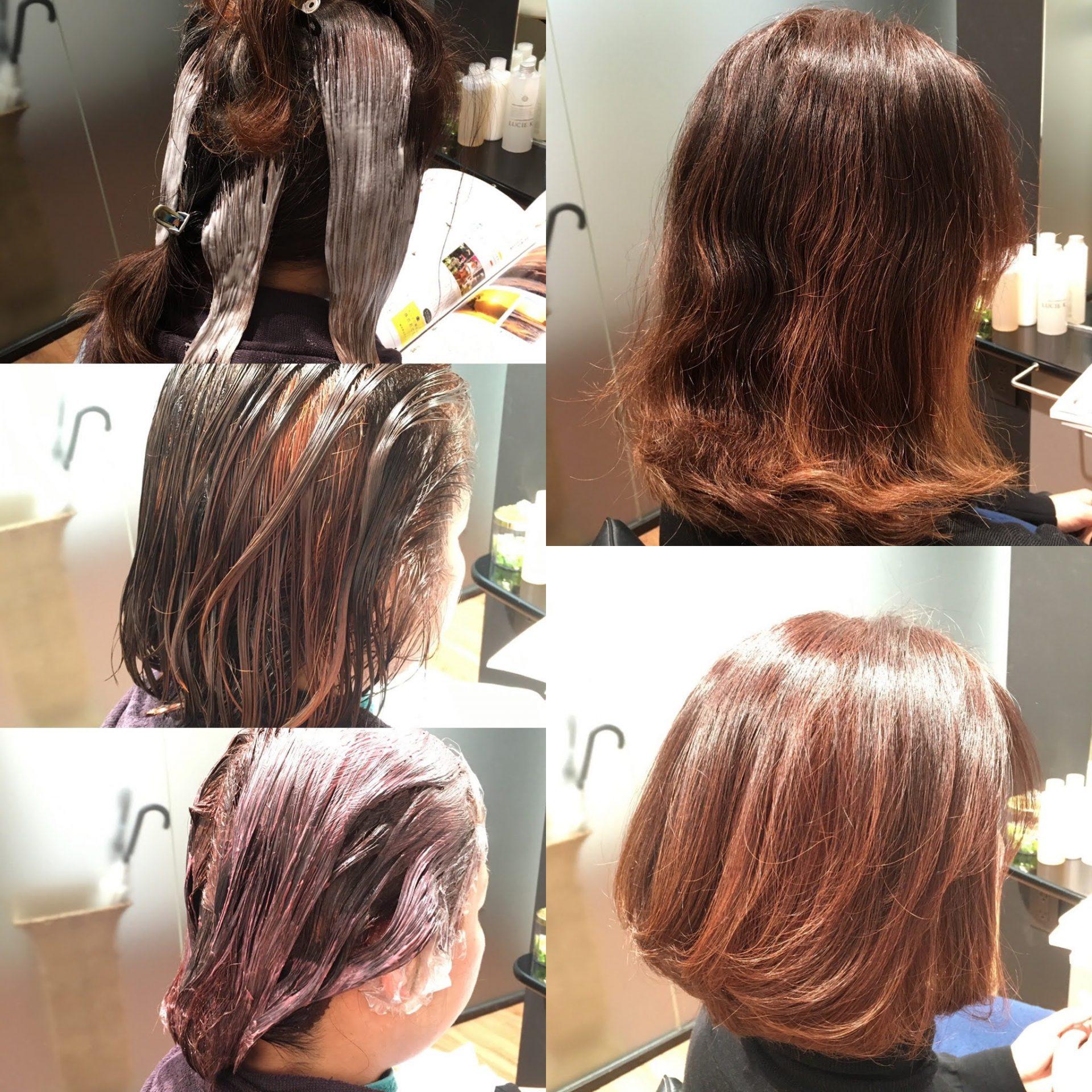 ちょっとしたアクセントでヘアカラー&ヘアスタイルを楽しく!FEEL美髪カラー&ブリーチ1国立市FEEL Hair